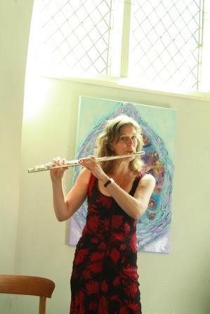 Yvonne-flute-sattva